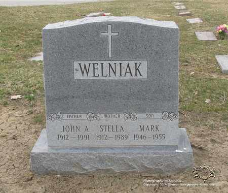 WELNIAK, JOHN A. - Lucas County, Ohio | JOHN A. WELNIAK - Ohio Gravestone Photos