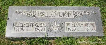 WERNERT, MARY T. - Lucas County, Ohio | MARY T. WERNERT - Ohio Gravestone Photos