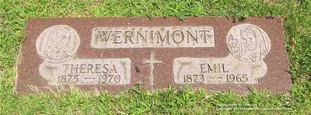 WERNIMONT, THERESA - Lucas County, Ohio | THERESA WERNIMONT - Ohio Gravestone Photos