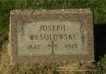 WESOLOWSKI, JOSEPH - Lucas County, Ohio | JOSEPH WESOLOWSKI - Ohio Gravestone Photos