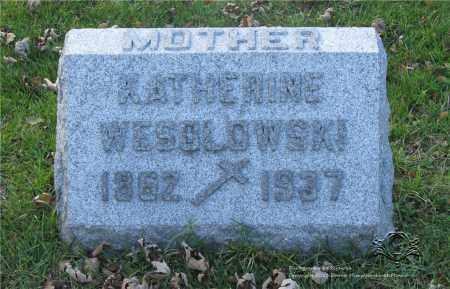 WESOLOWSKI, KATHERINE - Lucas County, Ohio | KATHERINE WESOLOWSKI - Ohio Gravestone Photos