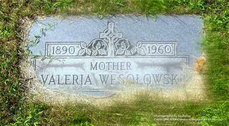 WESOLOWSKI, VALERIA - Lucas County, Ohio | VALERIA WESOLOWSKI - Ohio Gravestone Photos