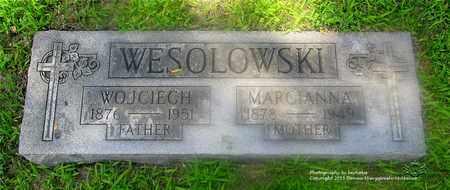 WESOLOWSKI, MARCIANNA - Lucas County, Ohio | MARCIANNA WESOLOWSKI - Ohio Gravestone Photos