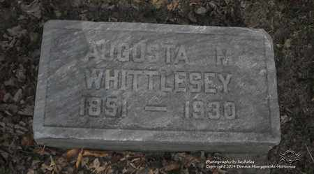 WHITTLESEY, AUGUSTA M. - Lucas County, Ohio | AUGUSTA M. WHITTLESEY - Ohio Gravestone Photos