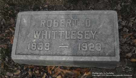 WHITTLESEY, ROBERT D. - Lucas County, Ohio | ROBERT D. WHITTLESEY - Ohio Gravestone Photos