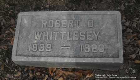 WHITTLESEY, ROBERT D. - Lucas County, Ohio | ROBERT D. WHITTLESEY - Ohio Gravestone Photos