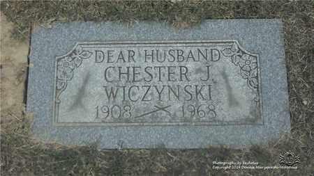 WICZYNSKI, CHESTER J. - Lucas County, Ohio | CHESTER J. WICZYNSKI - Ohio Gravestone Photos