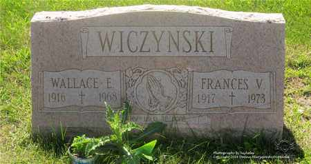 WICZYNSKI, FRANCES V. - Lucas County, Ohio | FRANCES V. WICZYNSKI - Ohio Gravestone Photos