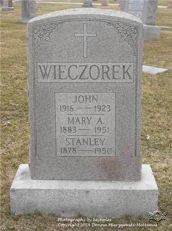 WIECZOREK, STANLEY - Lucas County, Ohio | STANLEY WIECZOREK - Ohio Gravestone Photos