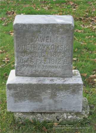 WIETRZYKOWSKI, PAWEL - Lucas County, Ohio | PAWEL WIETRZYKOWSKI - Ohio Gravestone Photos