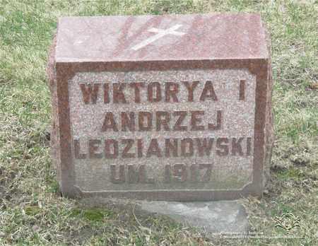 WISNIEWSKI LEDZIANOWSKI, WIKTORYA - Lucas County, Ohio | WIKTORYA WISNIEWSKI LEDZIANOWSKI - Ohio Gravestone Photos
