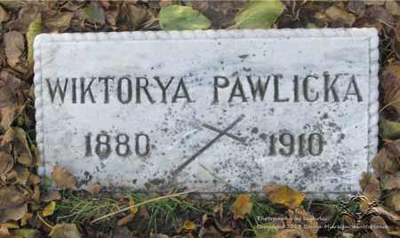 BECZKOWSKI PAWLICKA, WIKTORYA - Lucas County, Ohio | WIKTORYA BECZKOWSKI PAWLICKA - Ohio Gravestone Photos