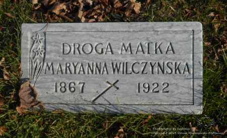 WILCZYNSKA, MARYANNA - Lucas County, Ohio | MARYANNA WILCZYNSKA - Ohio Gravestone Photos