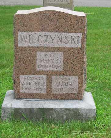 WILCZYNSKI, MARY E. - Lucas County, Ohio | MARY E. WILCZYNSKI - Ohio Gravestone Photos