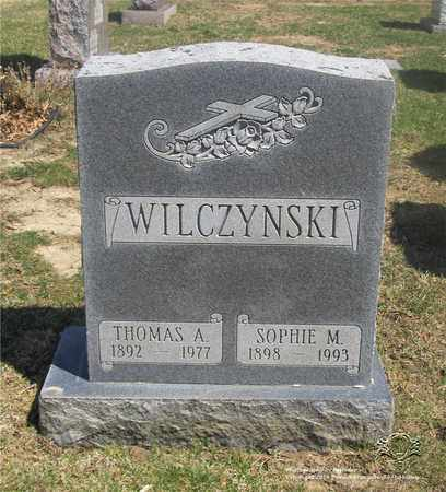 WILCZYNSKI, THOMAS A. - Lucas County, Ohio | THOMAS A. WILCZYNSKI - Ohio Gravestone Photos
