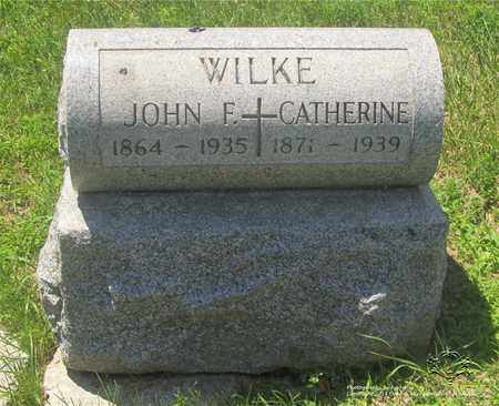 WILKE, CATHERINE - Lucas County, Ohio | CATHERINE WILKE - Ohio Gravestone Photos