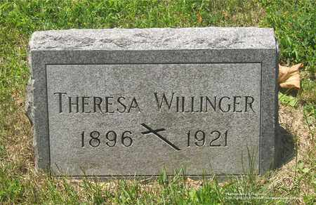 WALZER WILLINGER, THERESA - Lucas County, Ohio | THERESA WALZER WILLINGER - Ohio Gravestone Photos