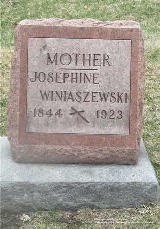 WINIASZEWSKI, JOSEPHINE - Lucas County, Ohio | JOSEPHINE WINIASZEWSKI - Ohio Gravestone Photos