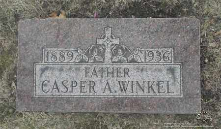 WINKEL, CASPER A. - Lucas County, Ohio | CASPER A. WINKEL - Ohio Gravestone Photos
