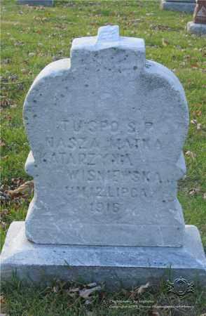 WISNIEWSKA, KATARZYNA - Lucas County, Ohio | KATARZYNA WISNIEWSKA - Ohio Gravestone Photos