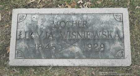 GLOWACKI WISNIEWSKA, LUCYJA - Lucas County, Ohio | LUCYJA GLOWACKI WISNIEWSKA - Ohio Gravestone Photos