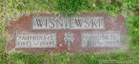 WISNIEWSKI, ANTHONY E. - Lucas County, Ohio | ANTHONY E. WISNIEWSKI - Ohio Gravestone Photos