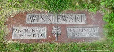 WISNIEWSKI, PAULINE S. - Lucas County, Ohio | PAULINE S. WISNIEWSKI - Ohio Gravestone Photos