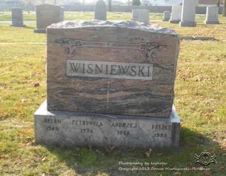 WISNIEWSKI, ANDRZEJ - Lucas County, Ohio | ANDRZEJ WISNIEWSKI - Ohio Gravestone Photos