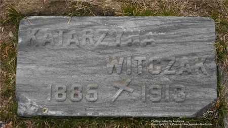 WITCZAK, KATARZYNA - Lucas County, Ohio | KATARZYNA WITCZAK - Ohio Gravestone Photos