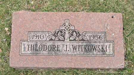 WITKOWSKI, THEODORE J. - Lucas County, Ohio | THEODORE J. WITKOWSKI - Ohio Gravestone Photos