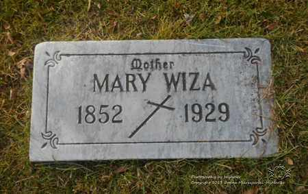 WIZA, MARY - Lucas County, Ohio | MARY WIZA - Ohio Gravestone Photos
