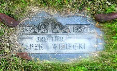 WIZIECKI, CASPER - Lucas County, Ohio | CASPER WIZIECKI - Ohio Gravestone Photos