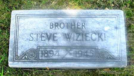 WIZIECKI, STEVE - Lucas County, Ohio | STEVE WIZIECKI - Ohio Gravestone Photos