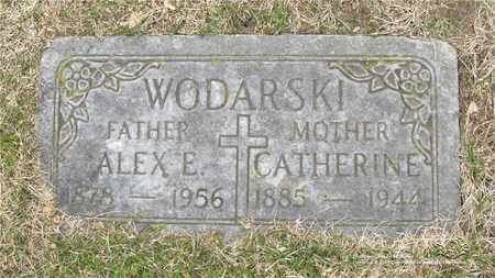 WODARSKI, CATHERINE - Lucas County, Ohio | CATHERINE WODARSKI - Ohio Gravestone Photos