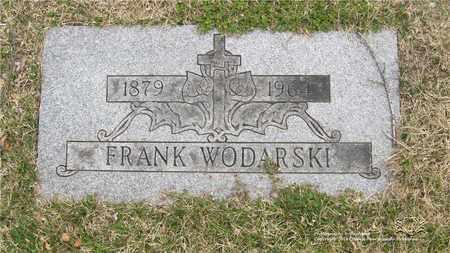 WODARSKI, FRANK - Lucas County, Ohio | FRANK WODARSKI - Ohio Gravestone Photos