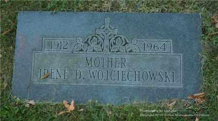 WOJCIECHOWSKI, IRENE D. - Lucas County, Ohio | IRENE D. WOJCIECHOWSKI - Ohio Gravestone Photos