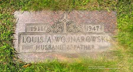 WOJNAROWSKI, LOUIS A. - Lucas County, Ohio | LOUIS A. WOJNAROWSKI - Ohio Gravestone Photos