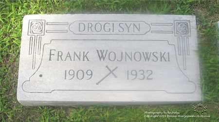 WOJNOWSKI, FRANK - Lucas County, Ohio | FRANK WOJNOWSKI - Ohio Gravestone Photos