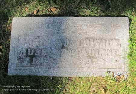 WOJTOWICZ, JOHN - Lucas County, Ohio | JOHN WOJTOWICZ - Ohio Gravestone Photos