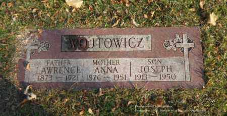 WOJTOWICZ, LAWRENCE - Lucas County, Ohio | LAWRENCE WOJTOWICZ - Ohio Gravestone Photos