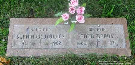 BADAS, ANNA - Lucas County, Ohio | ANNA BADAS - Ohio Gravestone Photos