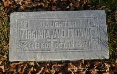 WOJTOWICZ, VIRGINIA - Lucas County, Ohio | VIRGINIA WOJTOWICZ - Ohio Gravestone Photos