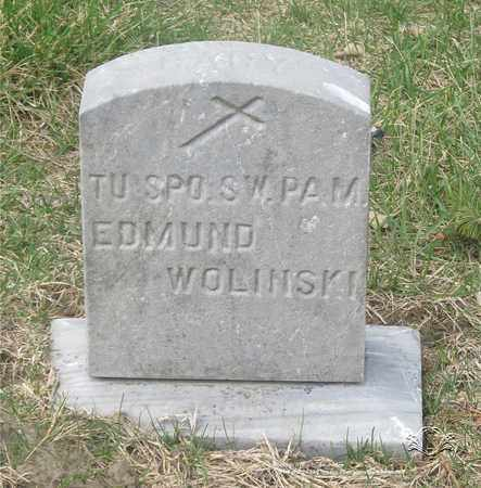 WOLINSKI, EDMUND - Lucas County, Ohio | EDMUND WOLINSKI - Ohio Gravestone Photos
