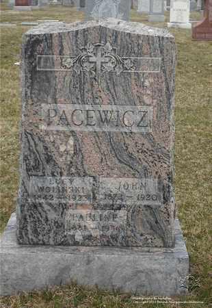 PACEWICZ, JOHN - Lucas County, Ohio | JOHN PACEWICZ - Ohio Gravestone Photos