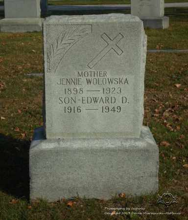 WOLOWSKA, JENNIE - Lucas County, Ohio | JENNIE WOLOWSKA - Ohio Gravestone Photos