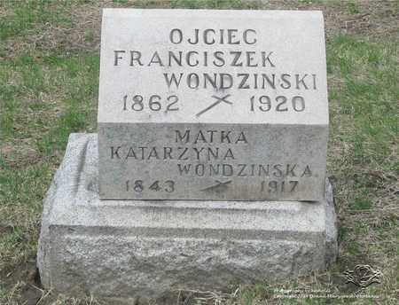 WONDZINSKI, FRANCISZEK - Lucas County, Ohio | FRANCISZEK WONDZINSKI - Ohio Gravestone Photos