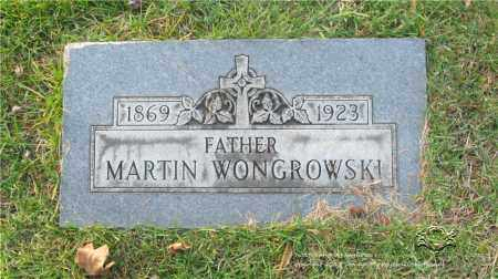 WONGROWSKI, MARTIN - Lucas County, Ohio | MARTIN WONGROWSKI - Ohio Gravestone Photos