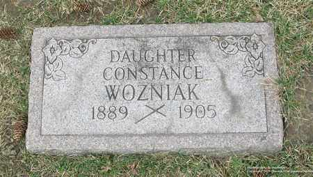 WOZNIAK, CONSTANCE - Lucas County, Ohio | CONSTANCE WOZNIAK - Ohio Gravestone Photos