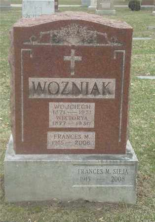 WOZNIAK SIEJA, FRANCES - Lucas County, Ohio | FRANCES WOZNIAK SIEJA - Ohio Gravestone Photos