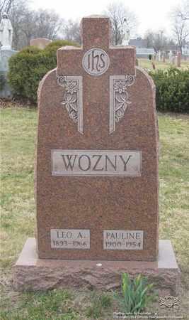WOZNY, PAULINE - Lucas County, Ohio | PAULINE WOZNY - Ohio Gravestone Photos